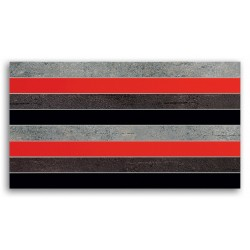 Braid Red 593x327 mm