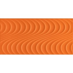 Wave orange A  448x223 mm