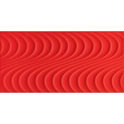 Wave red A 448x223 mm