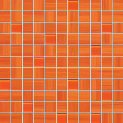 Wave orange 300x300 mm