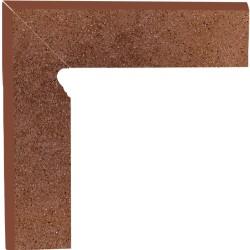 Cokół schodowy dwuelementowy strukturalny Taurus Brown Lewy