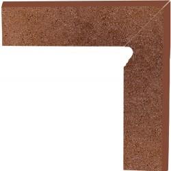 Cokół schodowy dwuelementowy strukturalny Taurus Brown Prawy