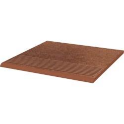 Stopnica ryflowana prosta strukturalna Taurus Brown