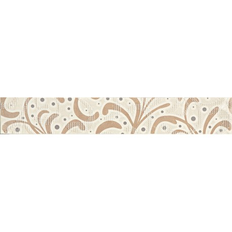 Gobi ornament beige 608x98 mm