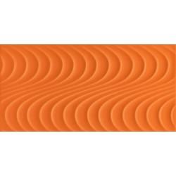 Wave orange A  448x223 mm